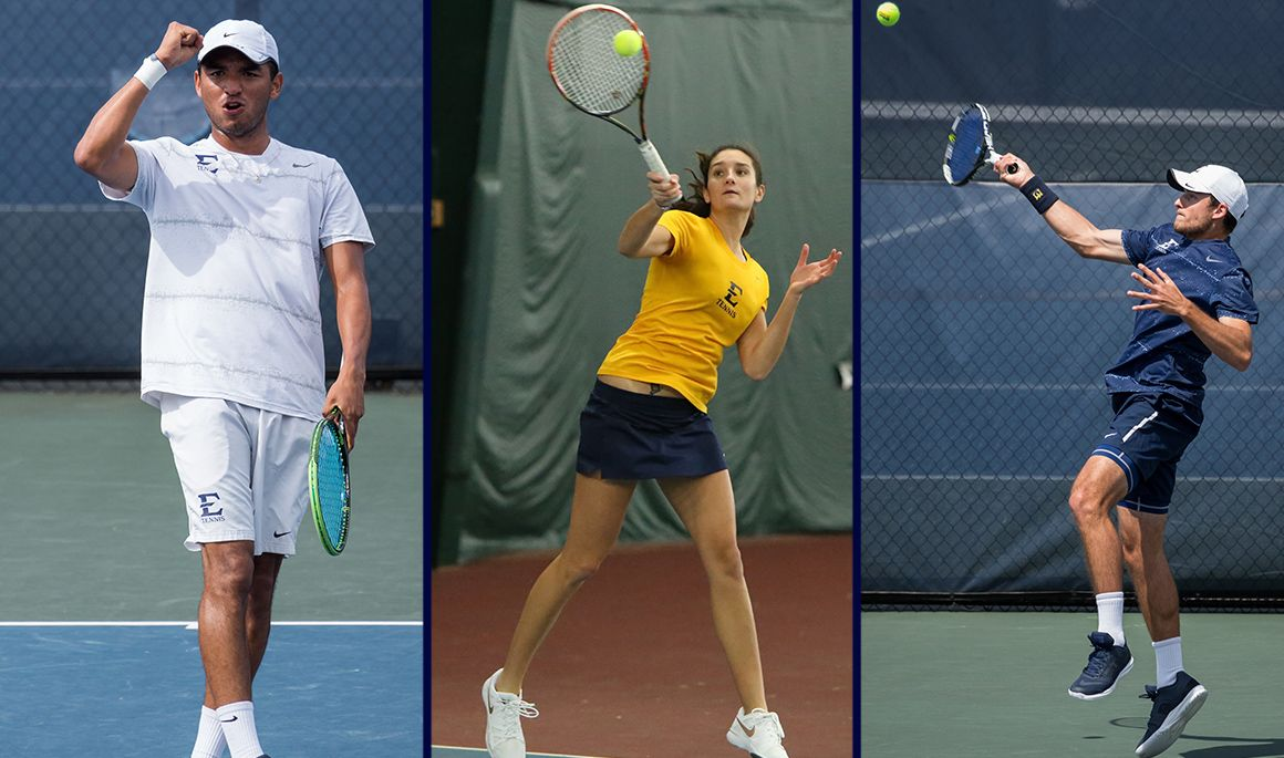 Three Bucs ranked nationally in men's and women's tennis