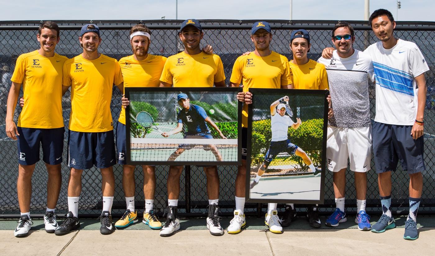 SOCON CHAMPS! Men's tennis wins 17th all-time regular season title