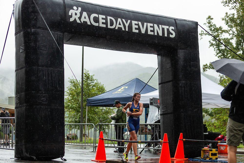 Brewington and Zimmerman Cap Bucs Triathlon Season at TriDeltathon