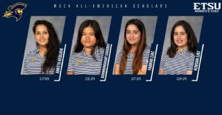 Four Bucs named WGCA All-American Scholars