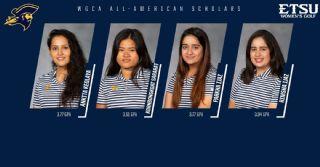Four Bucs named WGCA All-American Scholars
