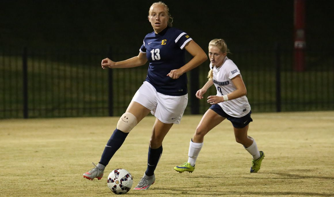 Women's Soccer edged by Samford in 86th minute