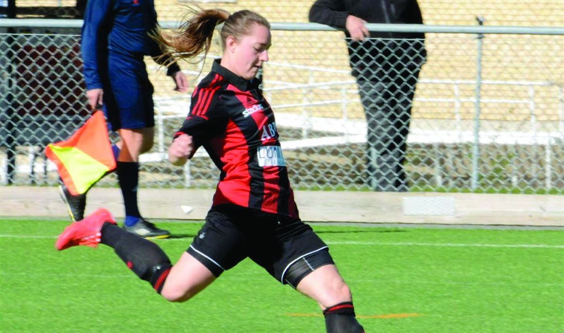 Women's Soccer signs defender Victoria Riesterer