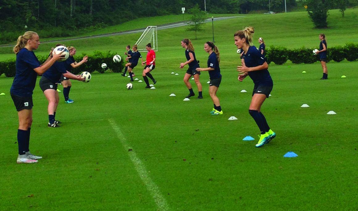 Women's Soccer opens preseason practice