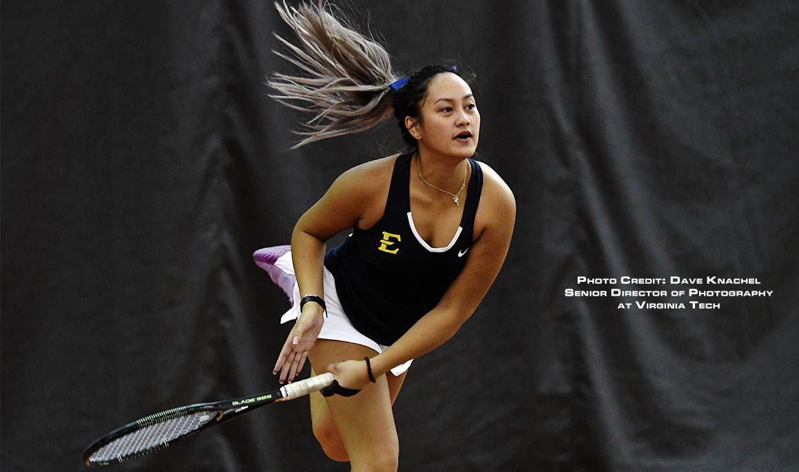 Markesini and Pereira go undefeated in doubles play at the Elon Fall Invitational