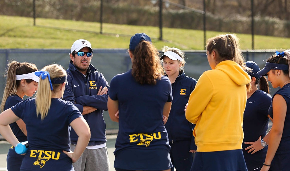 This week in ETSU women's tennis