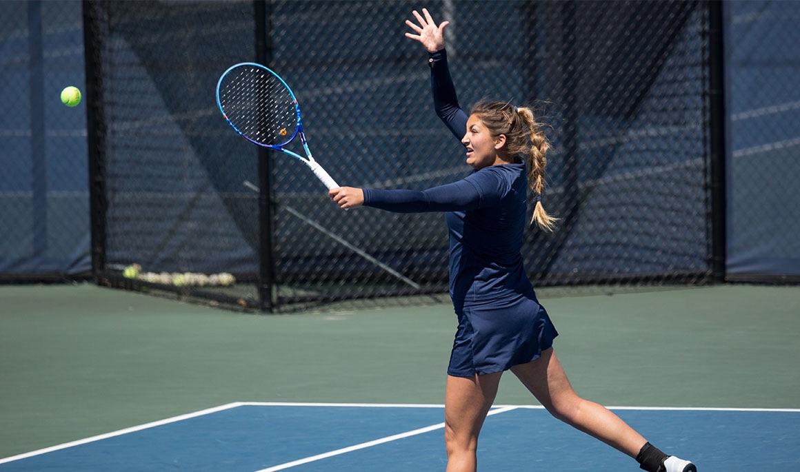 Guinart maintains singles win streak; ETSU falls 5-2 to North Carolina State