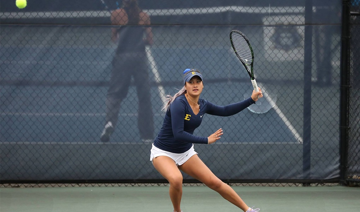 Successful outing for ETSU women's tennis team at Wofford Invitational