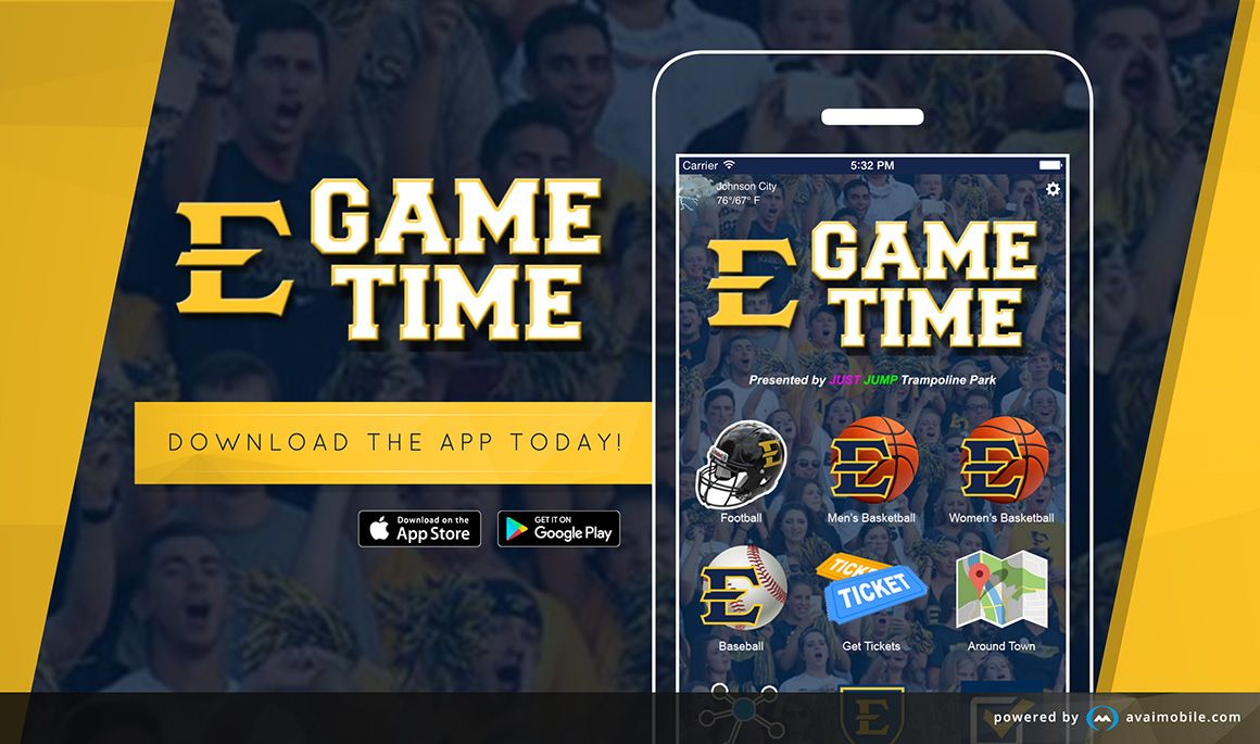 ETSU Game Time app launches new updates