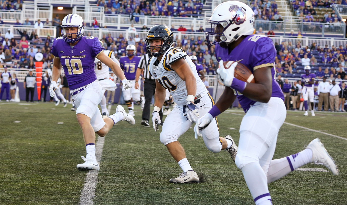 No. 1 James Madison too much for Bucs, 52-10