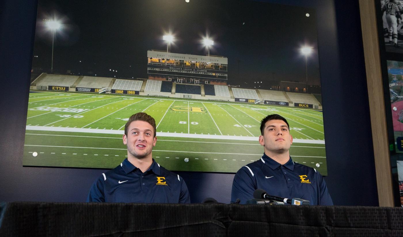 Football Press Conference -- The Citadel