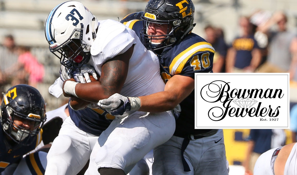 ETSU football announces Bowman Jewelers Player of the Game awards