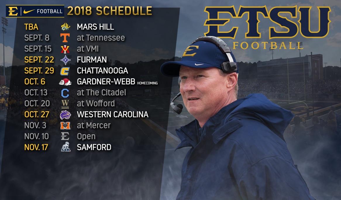 ETSU football unveils 2018 schedule