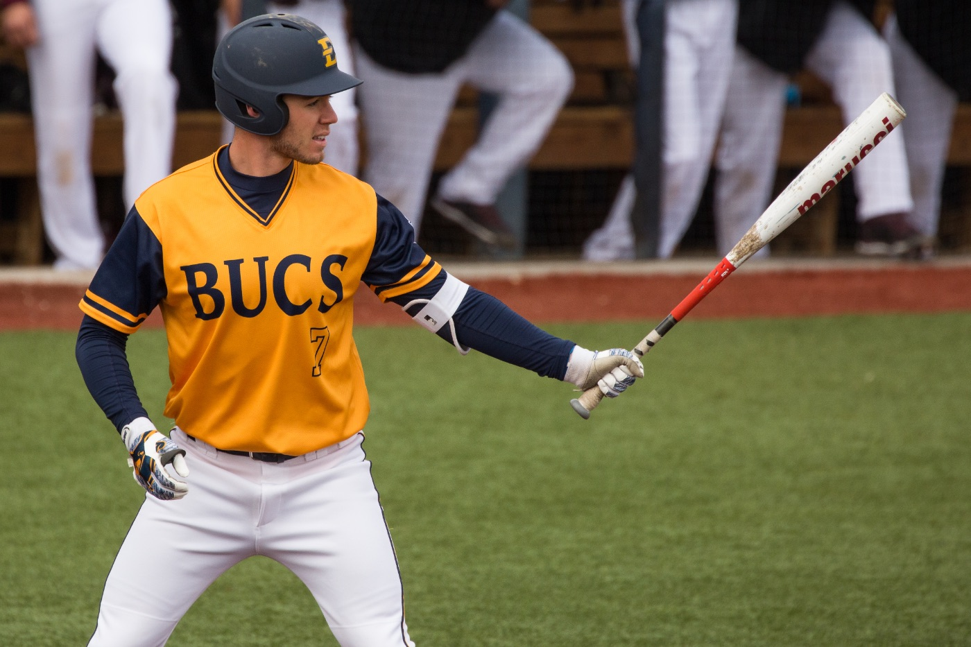 Longley powers Bucs past Samford in conference opener