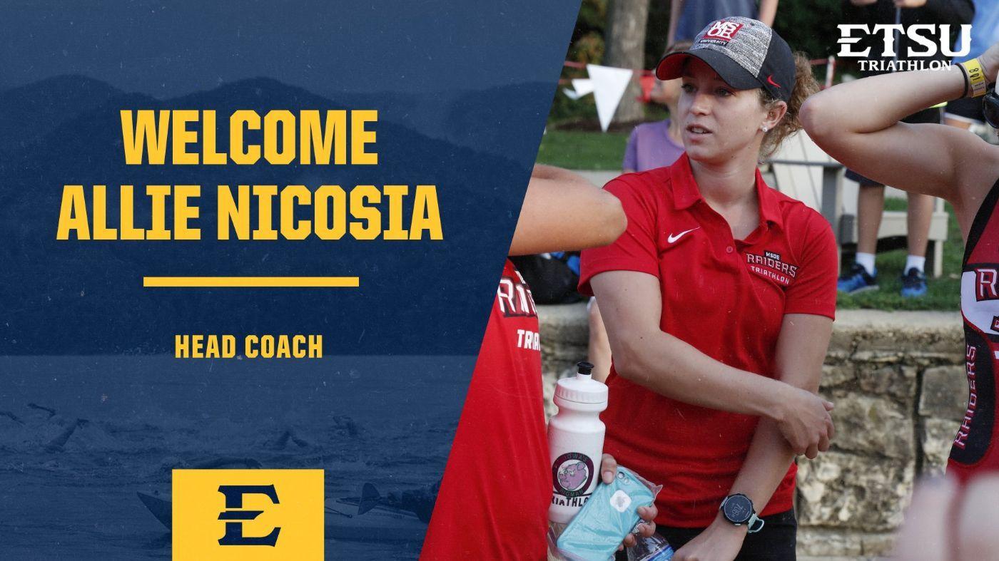 ETSU Names Allie Nicosia Triathlon Head Coach