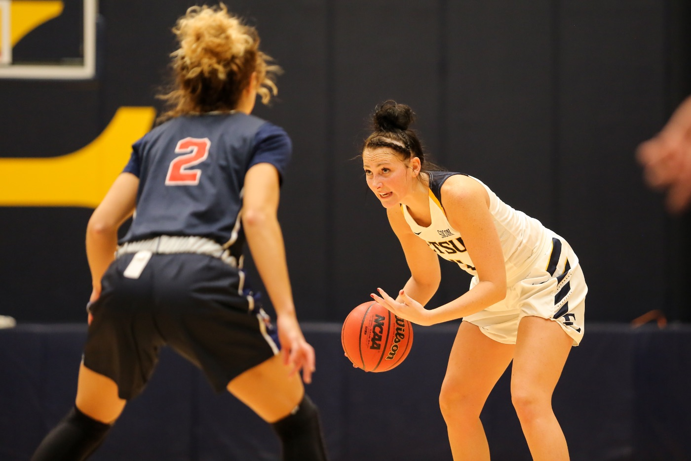 Bucs fall in final seconds at UNC Asheville, 56-55