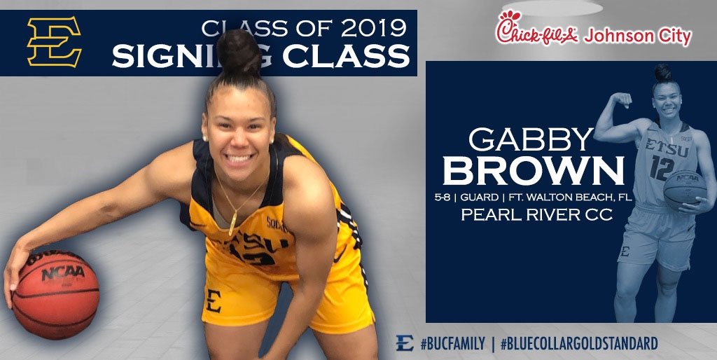 Ezell announces the signing of Gabby Brown