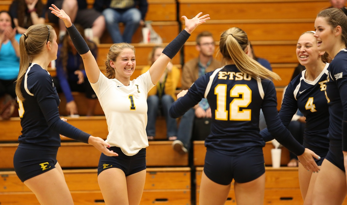 Etsubucs Com Etsu Volleyball Dominates In 3 0 Win Over Chattanooga