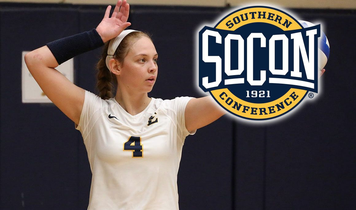 Briana Allmon named SoCon Offensive Player of the Month