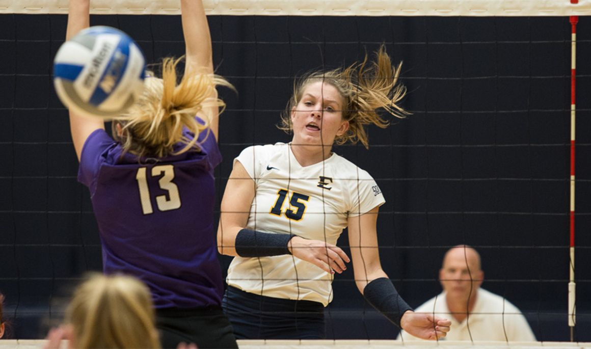 Volleyball goes undefeated at home; defeats Furman, 3-1