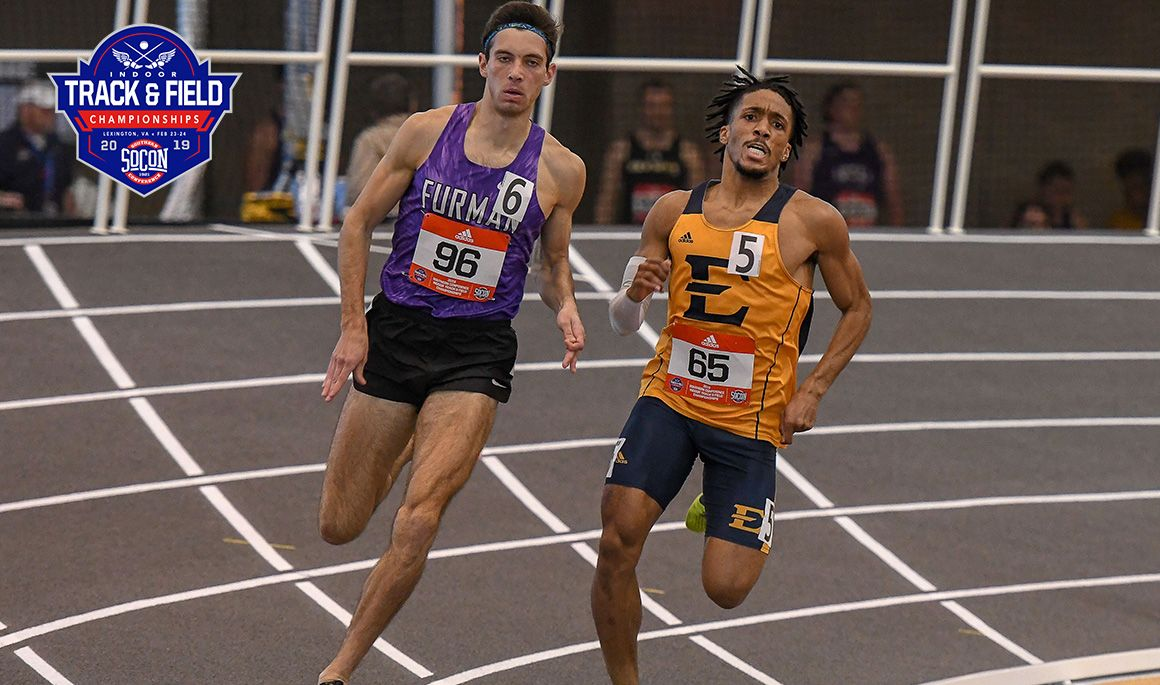 Bucs win five golds at SoCon Indoor Championships