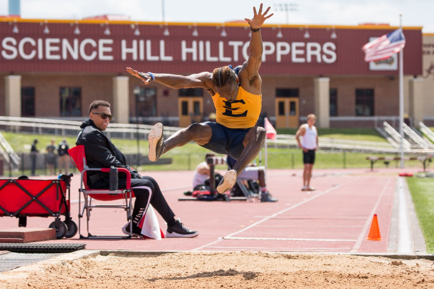 Delince competes in Day One of NCAA East Preliminaries