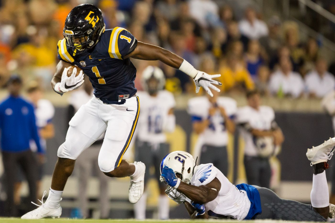 Holmes Named STATS Perform FCS First Team All-American