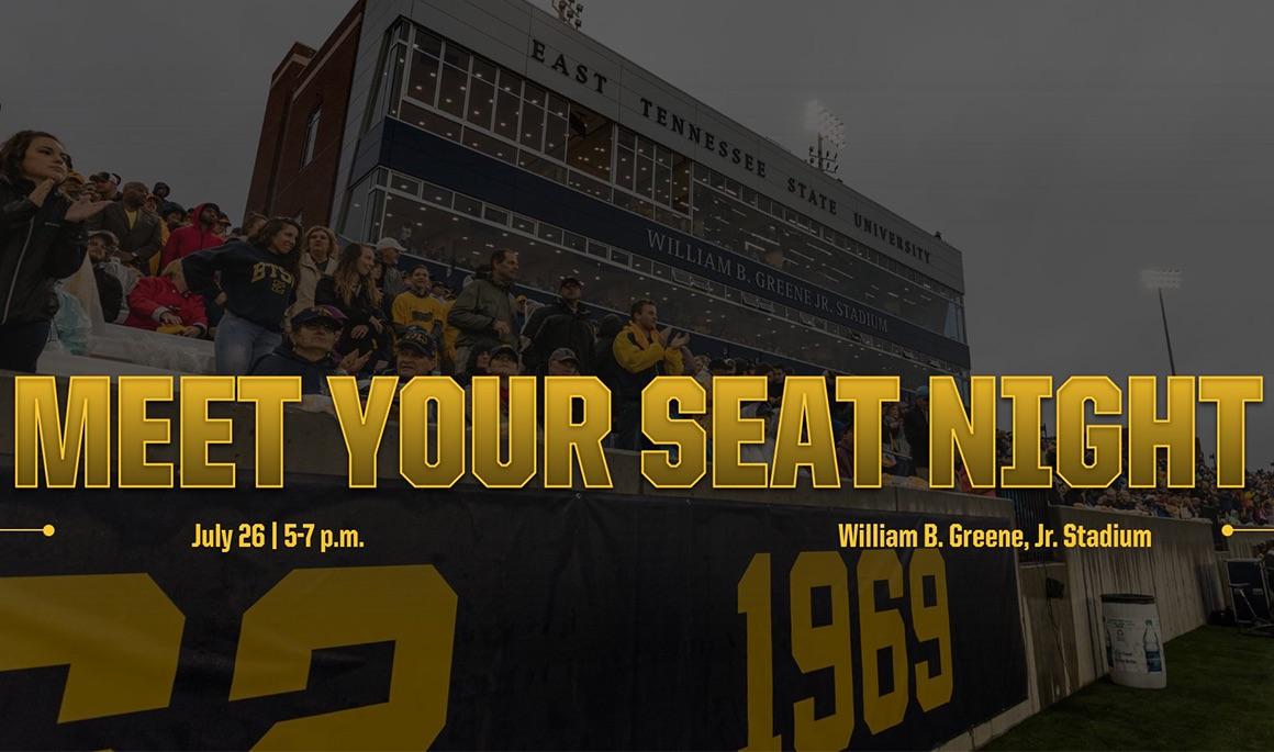 ETSU to hold Meet Your Seat Night at Greene Stadium