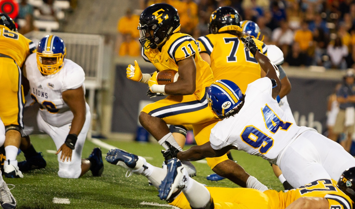 Bucs drop Mars Hill 28-7 in Sanders' debut