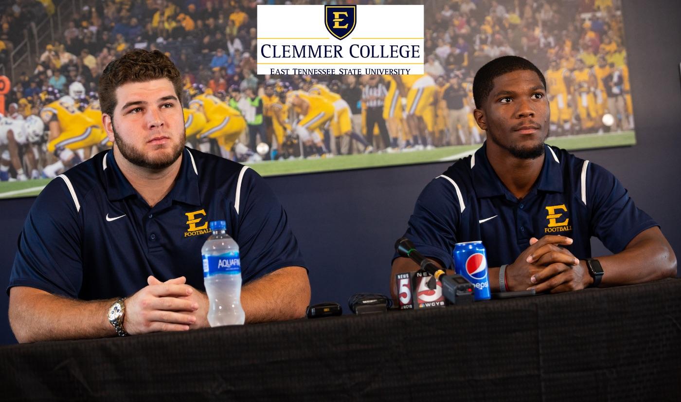 Football Press Conference -- Furman