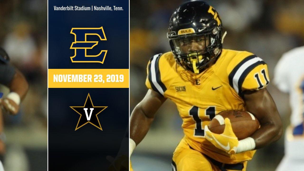 ETSU-Vanderbilt to play on Nov. 23, 2019