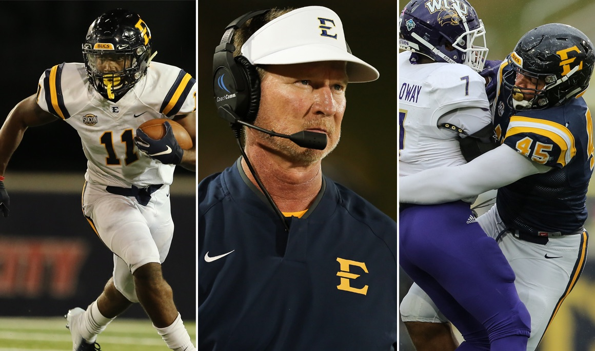 Three Bucs Named Finalists for STATS FCS Awards