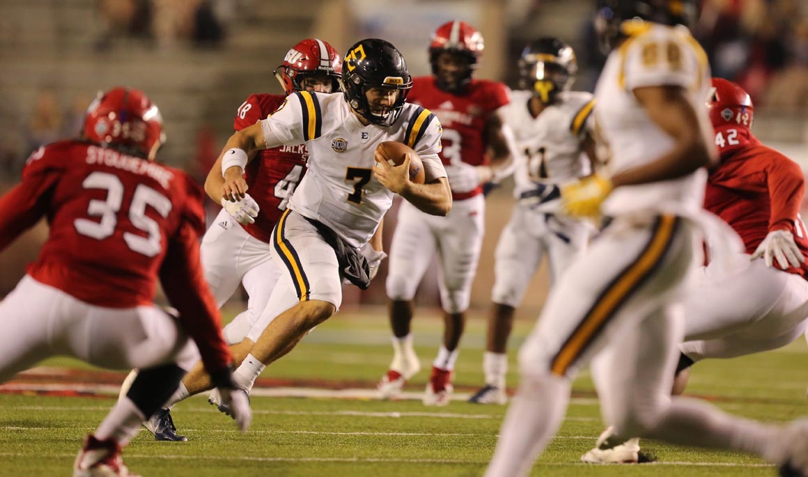 Bucs' historic season comes to an end in playoff loss at Jacksonville State