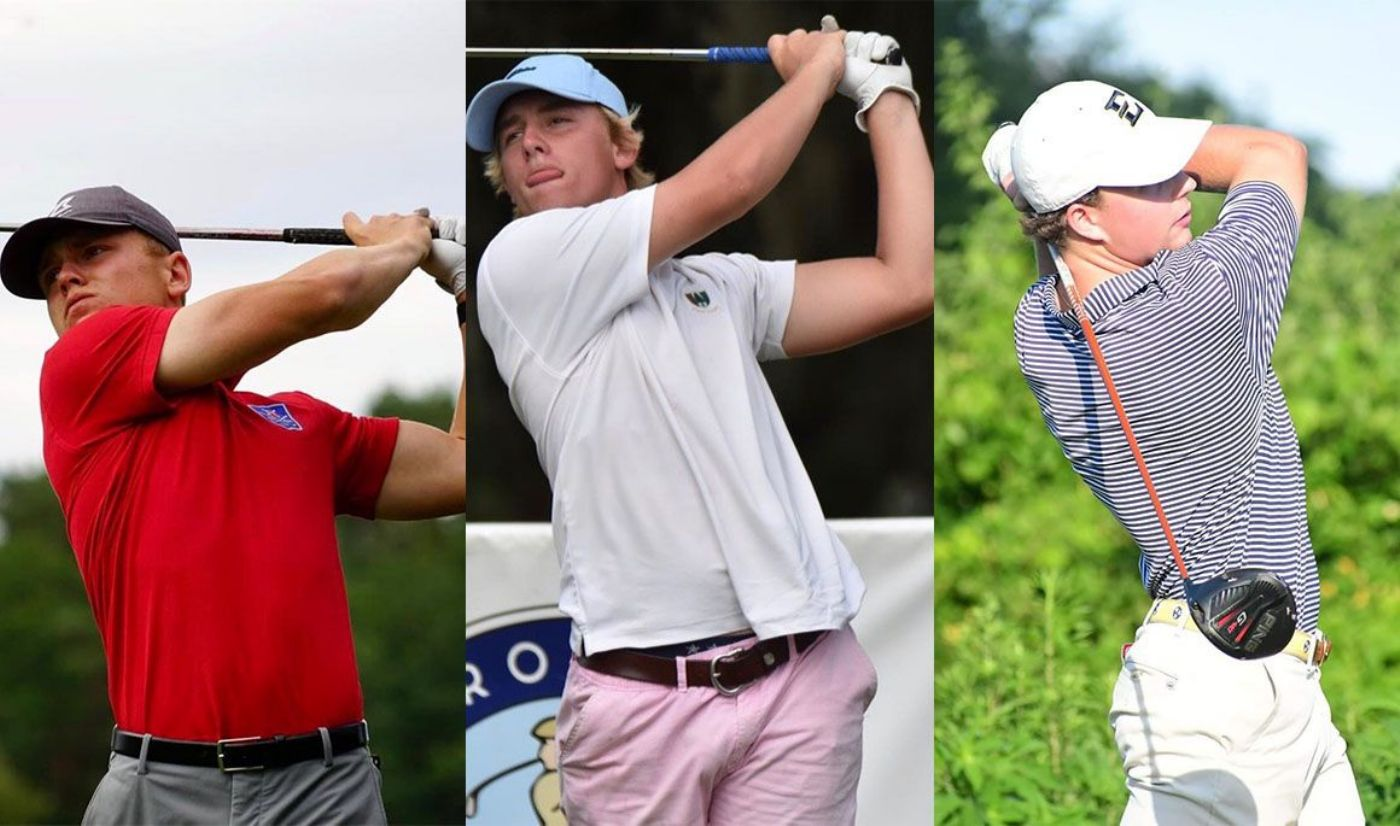Men's Golf Welcomes Trio on Signing Day