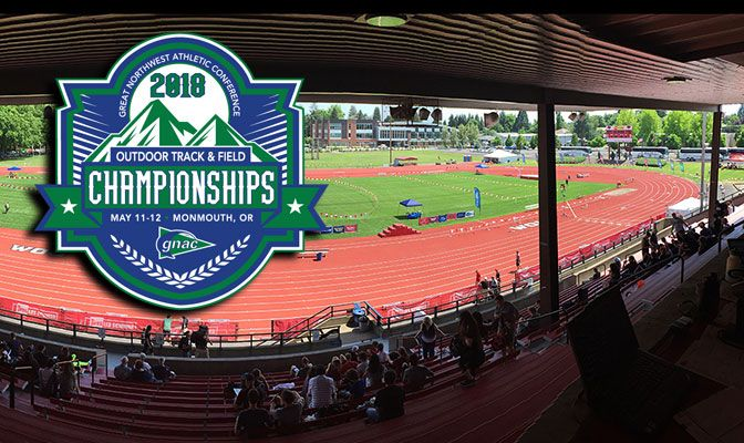Once again, the GNAC Outdoor Track and Field Championships takes place at Western Oregon University's McArthur Field.