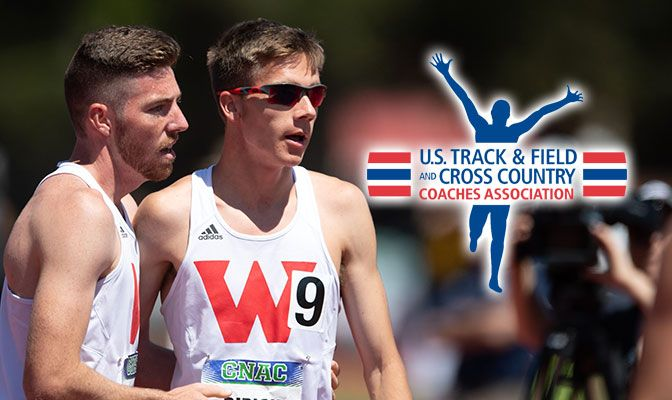 Earlier this season, Ribich was named the USTFCCCA West Region Cross Country Athlete of the Year and the Men's Indoor Track Athlete of the year. Photo by Chris Oertell.