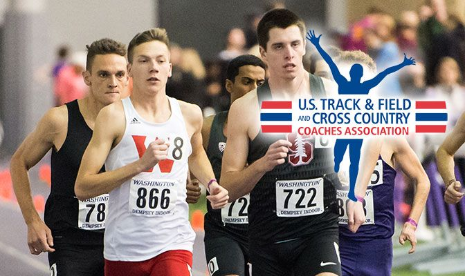 David Ribich raced in an elite mile heat at the UW Invitational that saw four athletes go under four minutes.