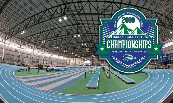 The 2018 GNAC Indoor Track and Field Championships return to the Jacksons Indoor Center on Feb. 16 and 17.