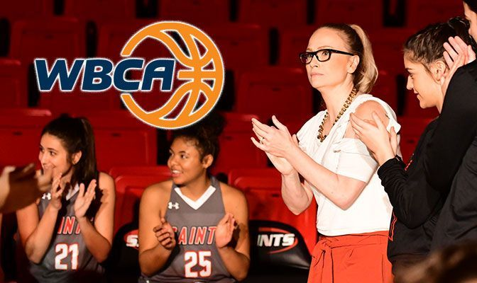 Christy Martin is entering her third season as the head women's basketball coach at Saint Martin's.