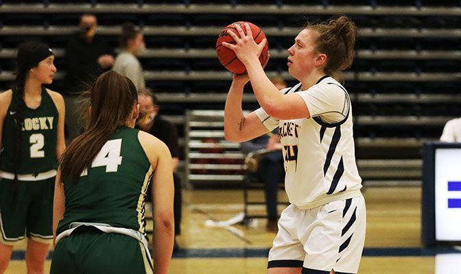 A two-time All-Academic Team selection, Shannon Reny is averaging three points and 3.3 rebounds for MSUB in 2020-21.