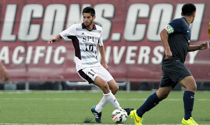 Danny Olivas scored a goal and added an assist to help SPU earn two 3-1 wins last week in conference play.