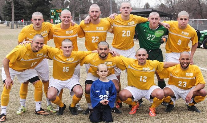 The Yellowjackets are seeking donations and encouraging people to participate in the fundraiser, as money raised will be on a per-ounce basis as hair is collected.