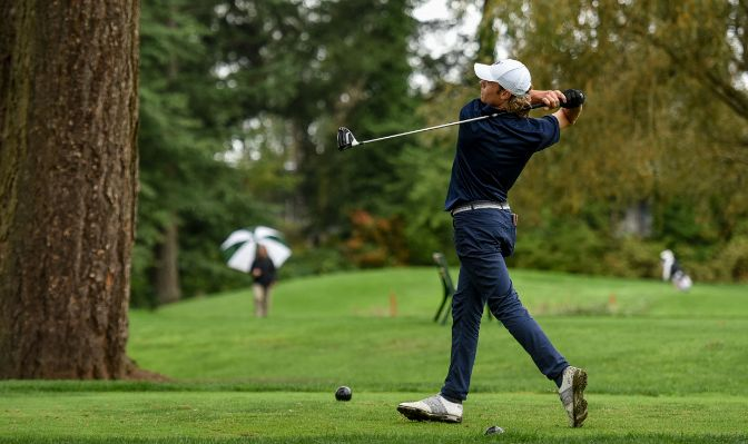 Western Washington sophomore Aidan Thain led GNAC golfers at the Dennis Rose Invitational with a third-place finish.