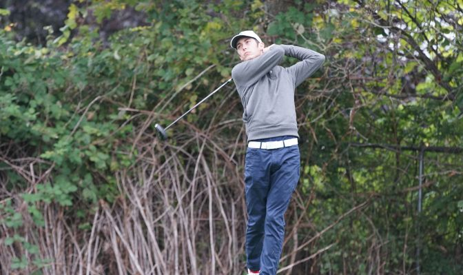 Ethan Casto shared Men's Golf Player of the Week honors with Northwest Nazarene's Isaac Emerson.