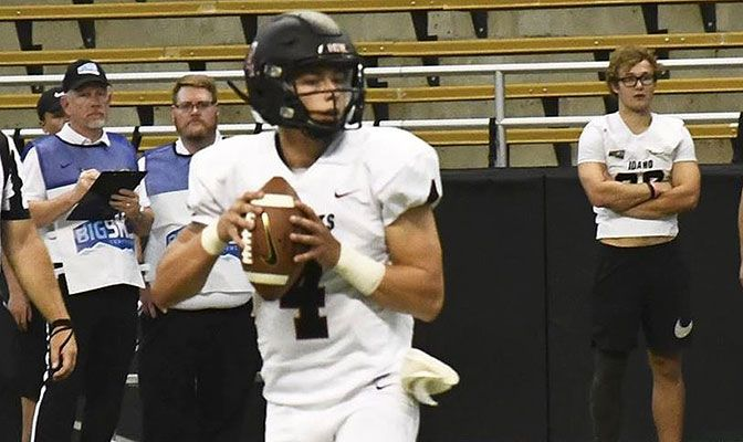 It will be another high profile game for CWU redshirt freshman quarterback Canon Racanelli, who is scheduled to start his second-ever college game.