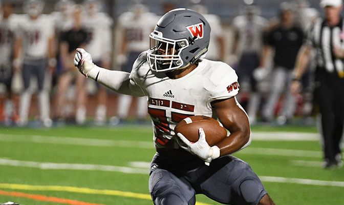 Western Oregon's Omari Land finished with 122 rushing yards and three touchdowns to earn GNAC Offensive Player of the Week honors.