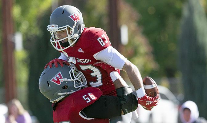 Western Oregon enters Saturday's game with Central Washington with a 3-0 GNAC record and having won four straight games.