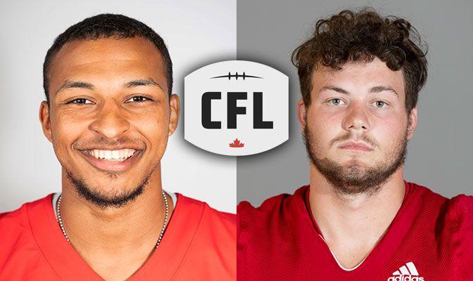 SFU's John, WOU's Hammond Selected In CFL Draft