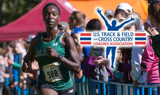 Chelimo won the race in a time of 21:15 for 6,000 meters. It was her second individual victory in three races this season.