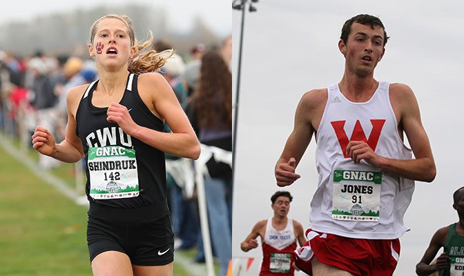 Both a pair of 4.00 classroom performers, Alexa Shindruk (left) and Tyler Jones will race at Saturday's NCAA Division II Championships. Photos by Jaime Valdez.